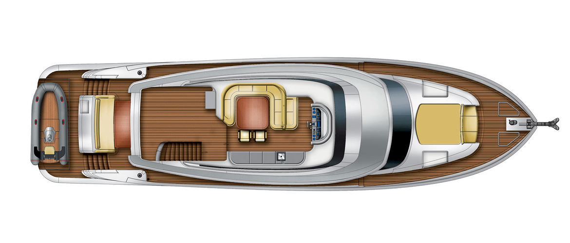 Flybridge (sundeck) Magellano 76