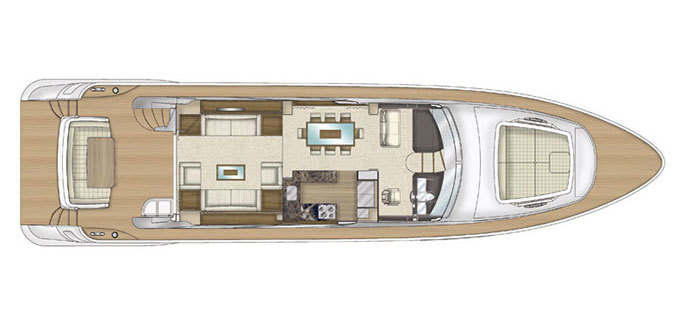 Salon / main deck